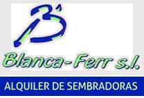 Alquiler de Sembradoras. Blanca Ferr.